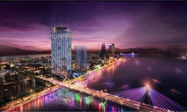 Biểu tượng mới của thành phố Đà Nẵng đã cất nóc - 3