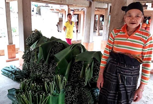 Thanh Hoá: Cận Tết, nhiều cụ bà gần 70 tuổi vẫn băng rừng, lội suối hái lá dong - 12