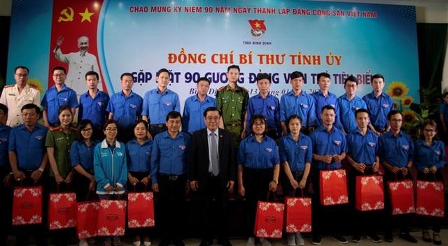 Bí thư Tỉnh ủy Bình Định: Tuổi trẻ phải xông pha và cống hiến - 4