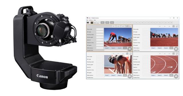 Canon giới thiệu robot chụp ảnh thể thao để chuẩn bị cho Olympic Tokyo 2020 - 1