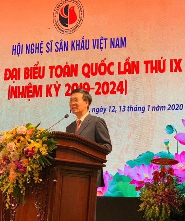 NSND Thuý Mùi đắc cử Chủ tịch Hội Nghệ sĩ Sân khấu Việt Nam - 1