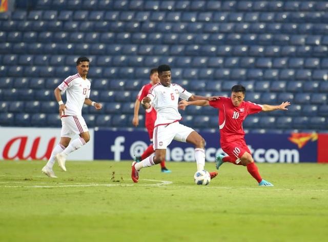 U23 UAE 2-0 U23 Triều Tiên: Khác biệt lớn ở khâu dứt điểm - 5