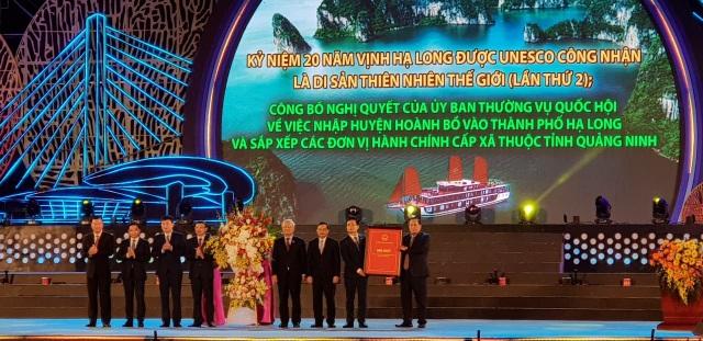 Hạ Long chính thức trở thành đô thị loại 1 trực thuộc tỉnh lớn nhất nước - 1