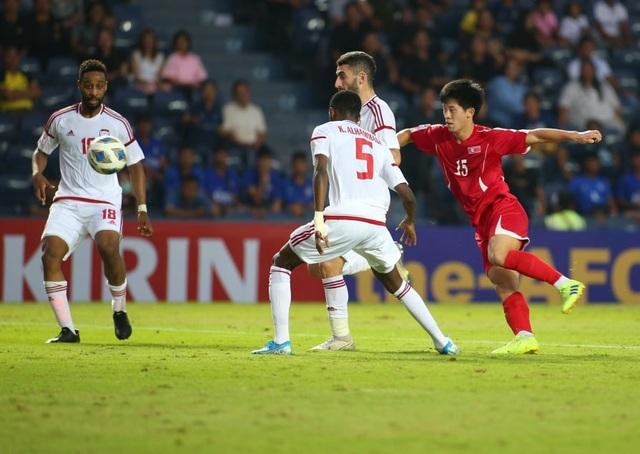 U23 UAE 2-0 U23 Triều Tiên: Khác biệt lớn ở khâu dứt điểm - 4