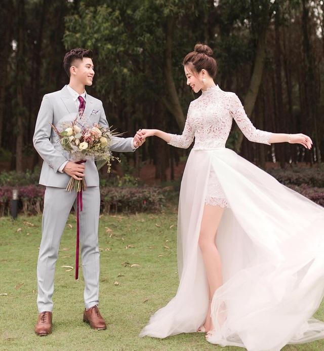 Ngắm bộ ảnh cưới tình bể bình của cầu thủ Phan Văn Đức và hot girl Nghệ An - 5