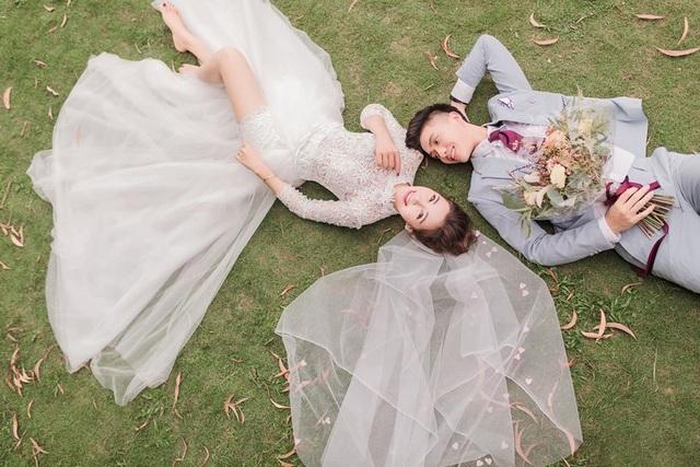 Ngắm bộ ảnh cưới tình bể bình của cầu thủ Phan Văn Đức và hot girl Nghệ An - 4