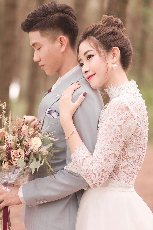 Ngắm bộ ảnh cưới tình bể bình của cầu thủ Phan Văn Đức và hot girl Nghệ An - 3