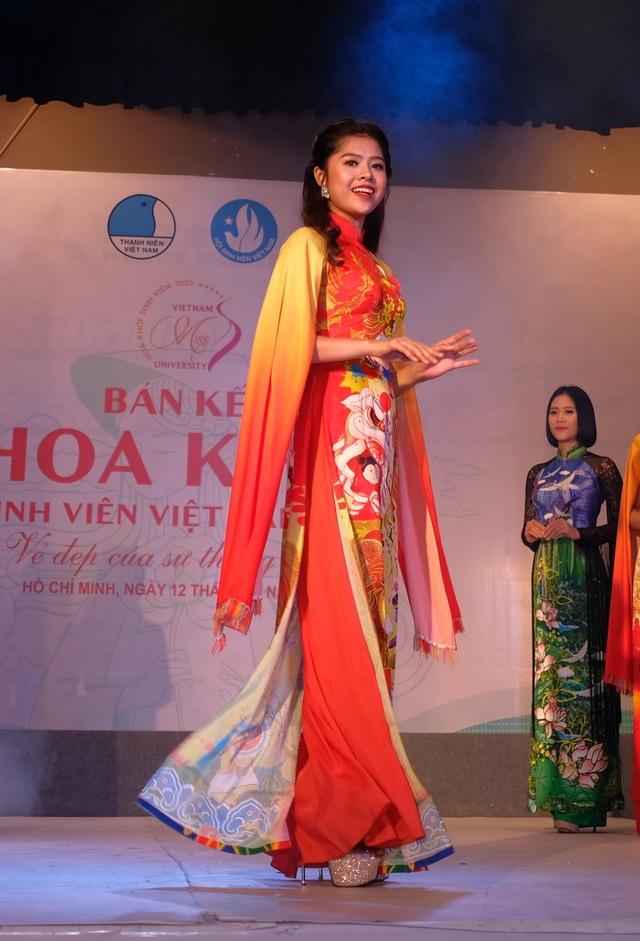 15 nữ sinh xuất sắc phía Nam lọt tiếp vào Chung kết Hoa khôi Sinh viên Việt Nam 2020 - 5