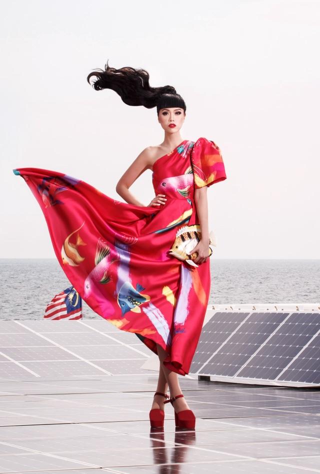 Jesscia Minh Anh kết hợp Vũ Ngọc và Son giới thiệu BST mới tại New York - 2