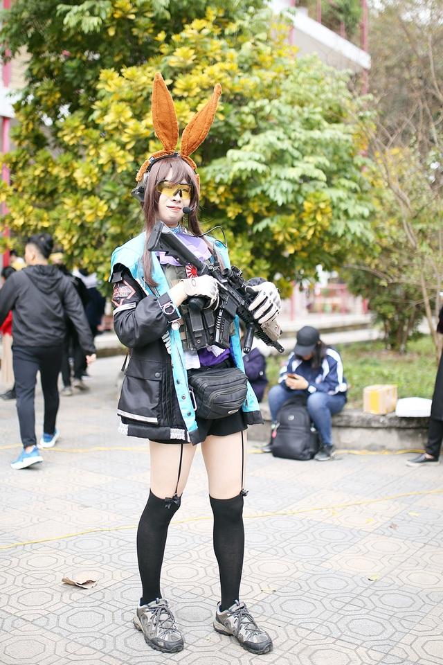 Bạn trẻ Việt tập làm bánh mochi, diễn cosplay tại lễ hội Nhật Bản - 4