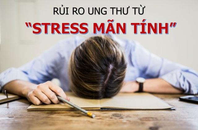 """Stress kéo dài """"nuôi dưỡng"""" mầm mống ung thư - 1"""