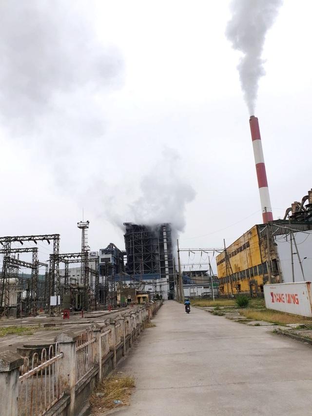 Nhiệt điện Uông Bí gặp sự cố bục ống sinh hơi: Không có thiệt hại về người - 1