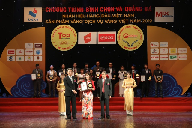 Tingco vinh dự xếp trong Top 50 Nhãn hiệu hàng đầu Việt Nam năm 2019 - 2