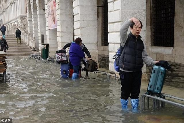 """Hết ngập lụt lại đến khô hạn, """"thánh đường du lịch"""" Venice khốn khổ vì... nước - 10"""