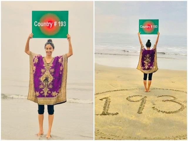 Cô gái Nam Á xinh đẹp đi 193 quốc gia mà chẳng tốn gì nhiều nhặn - 16