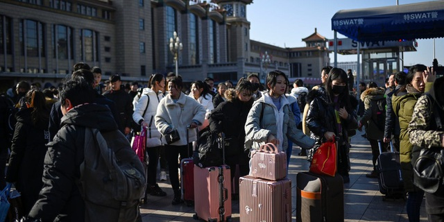 Trung Quốc bắt đầu cuộc di dân lớn nhất hành tinh với 3 tỷ chuyến đi - 1