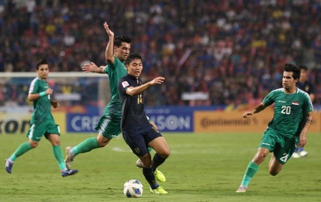 U23 Thái Lan 1-1 U23 Iraq: Đội chủ nhà vào tứ kết - 4