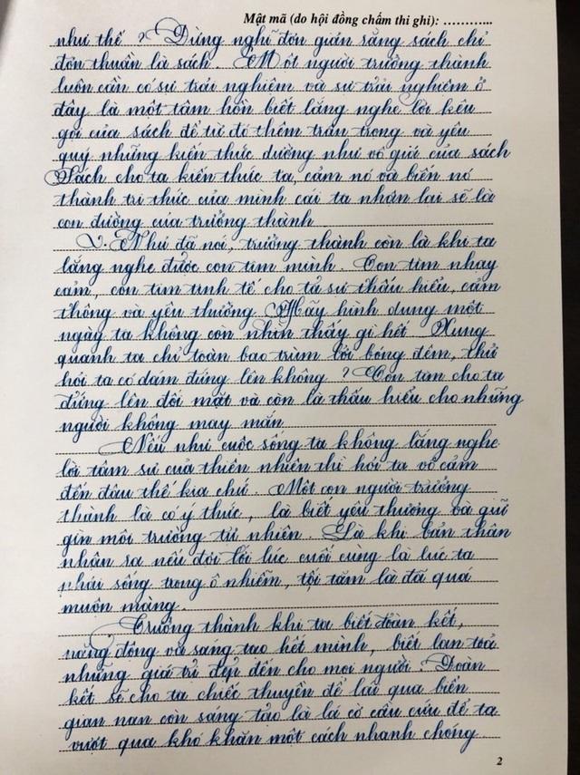 Nét chữ đẹp như mơ của học sinh TPHCM - 5