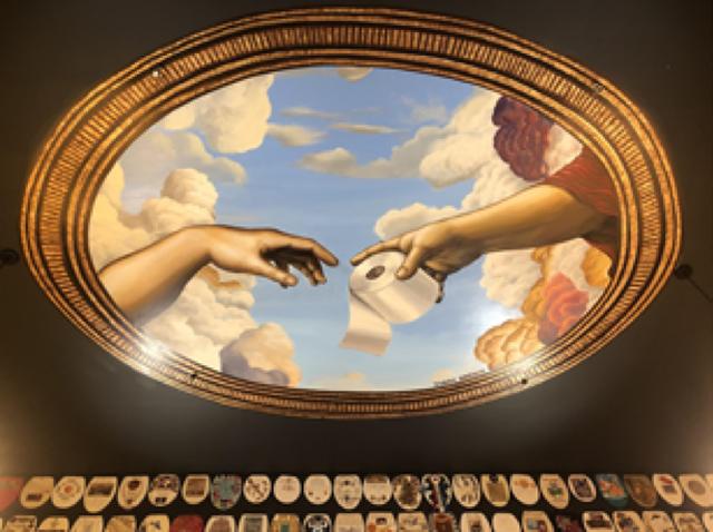 Người đàn ông dành cả đời sưu tập và vẽ 1.400 nắp bồn cầu nghệ thuật - 2
