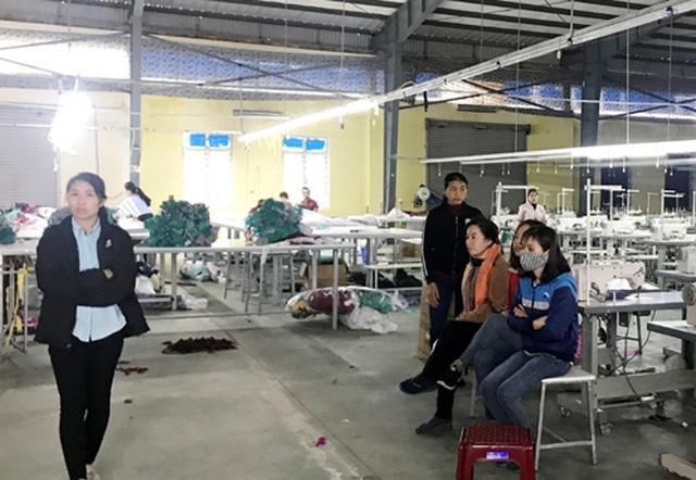 Hà Tĩnh: Hơn 300 công nhân may đình công những ngày cận Tết - 3