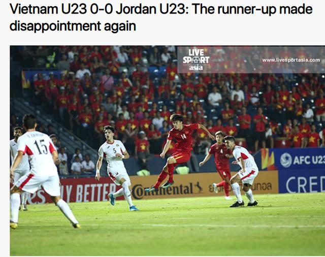 Báo châu Á thất vọng vì U23 Việt Nam vẫn chưa thắng - 2