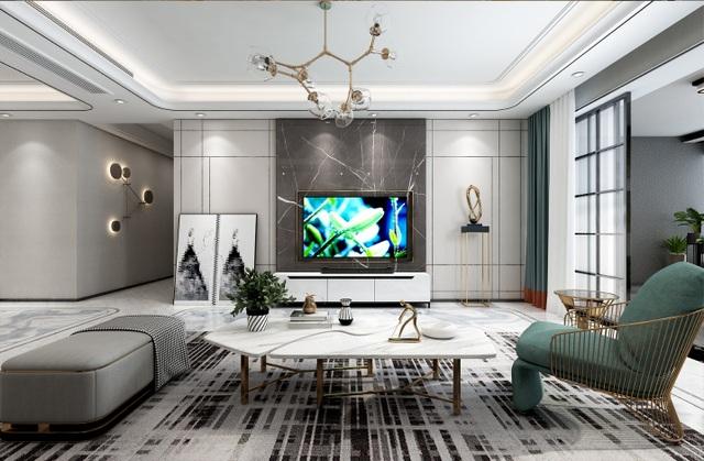 Xu hướng nội thất năm 2020: Phòng khách cao cấp đón thế hệ TV OLED siêu mỏng - 1