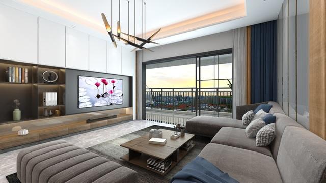 Xu hướng nội thất năm 2020: Phòng khách cao cấp đón thế hệ TV OLED siêu mỏng - 2