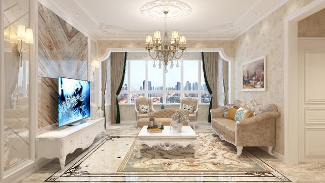 Xu hướng nội thất năm 2020: Phòng khách cao cấp đón thế hệ TV OLED siêu mỏng - 3
