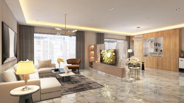 Xu hướng nội thất năm 2020: Phòng khách cao cấp đón thế hệ TV OLED siêu mỏng - 4