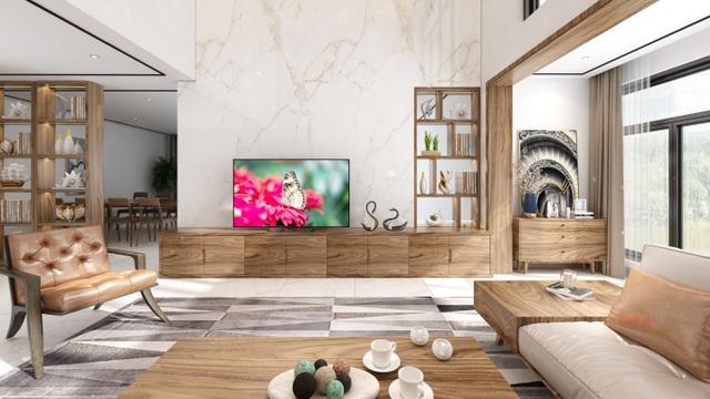 Xu hướng nội thất năm 2020: Phòng khách cao cấp đón thế hệ TV OLED siêu mỏng - 5