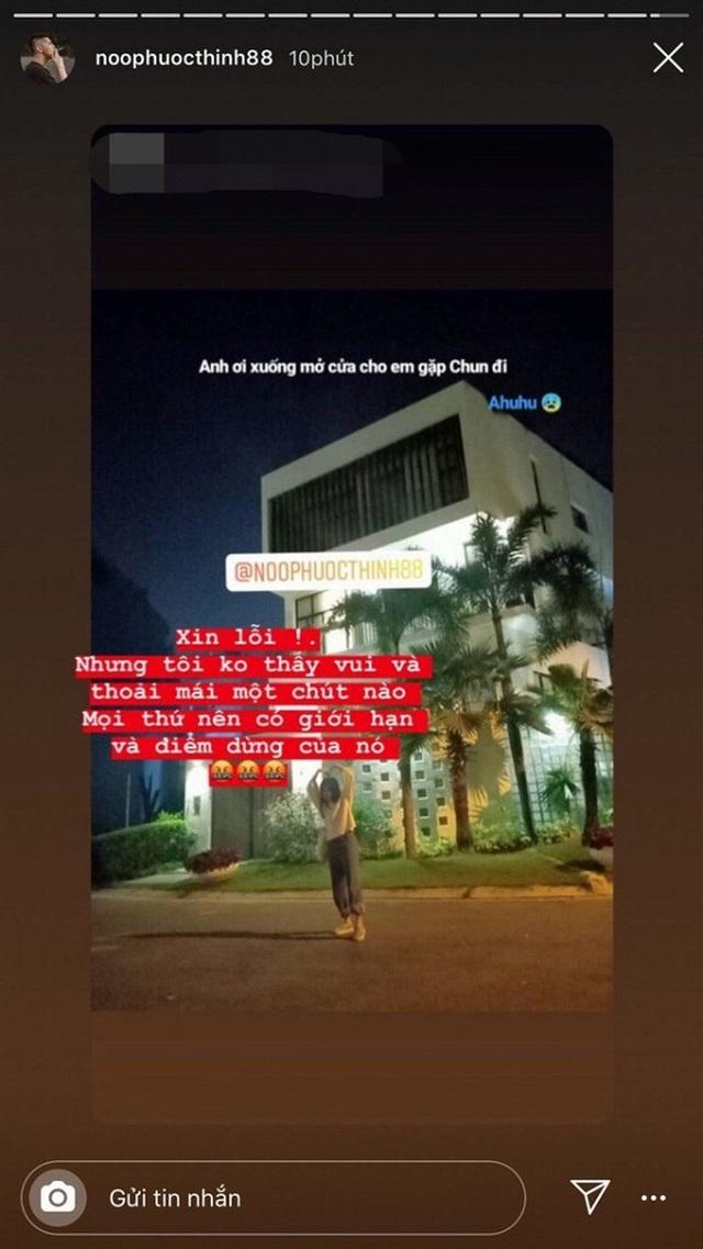 Noo Phước Thịnh bức xúc khi fan cuồng chụp hình nhà riêng lúc nửa đêm - 1