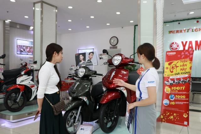 """Hàng ngàn khách hàng mua xe Yamaha """"trúng lớn"""" dịp cuối năm - 1"""