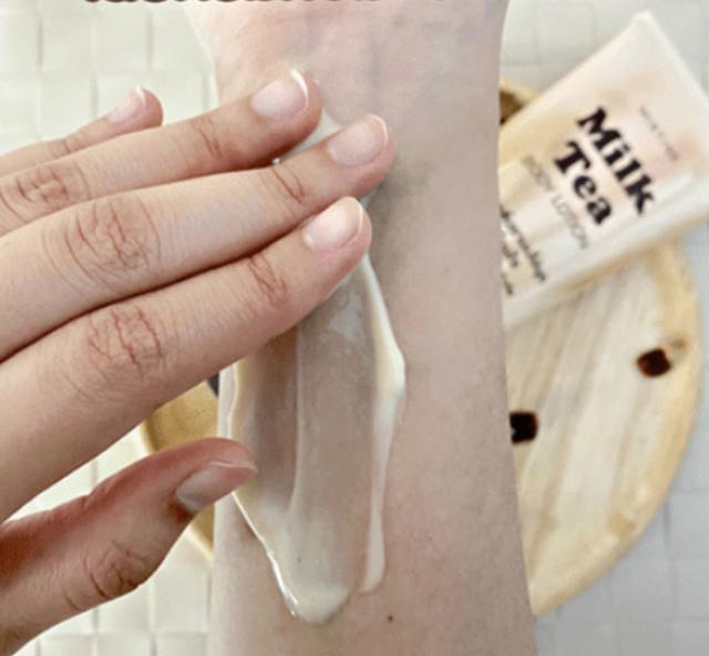 Độc đáo sản phẩm dưỡng da làm từ... trà sữa - 1