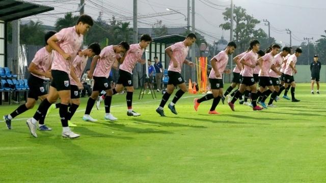 """""""Thần đồng"""" Suphanat tập luyện trở lại ngay trước trận U23 Thái Lan gặp U23 Iraq - 1"""