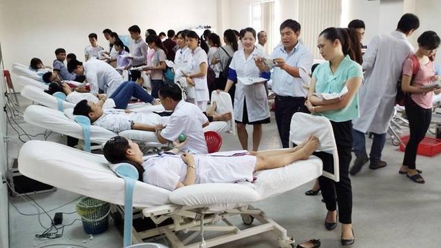 Vận động người dân 3 tỉnh hiến máu tăng thể tích lên 350 và 450ml - 2