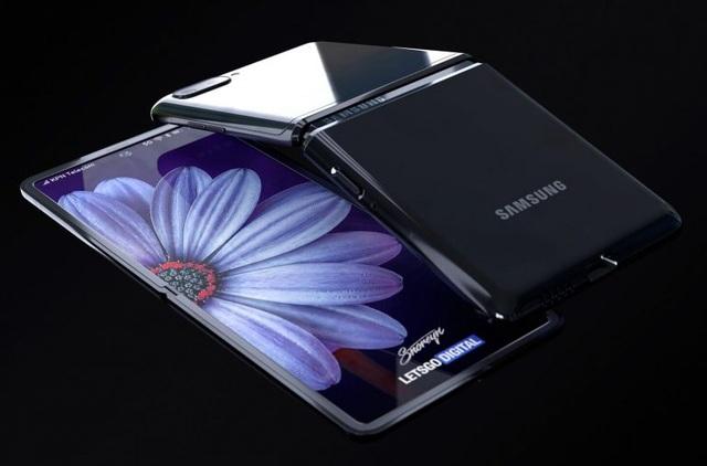Ngắm concept tuyệt đẹp của smartphone màn hình gập Galaxy Z Flip - 1