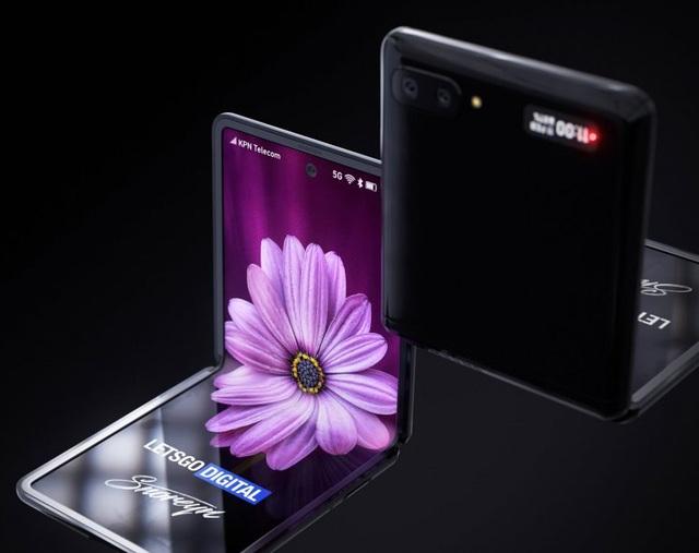 Ngắm concept tuyệt đẹp của smartphone màn hình gập Galaxy Z Flip - 2