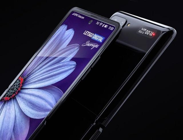 Ngắm concept tuyệt đẹp của smartphone màn hình gập Galaxy Z Flip - 3