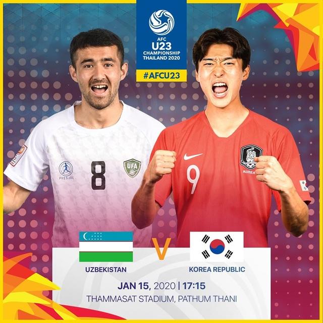 U23 Hàn Quốc 2-1 U23 Uzbekistan: Cùng giành vé đi tiếp - 7