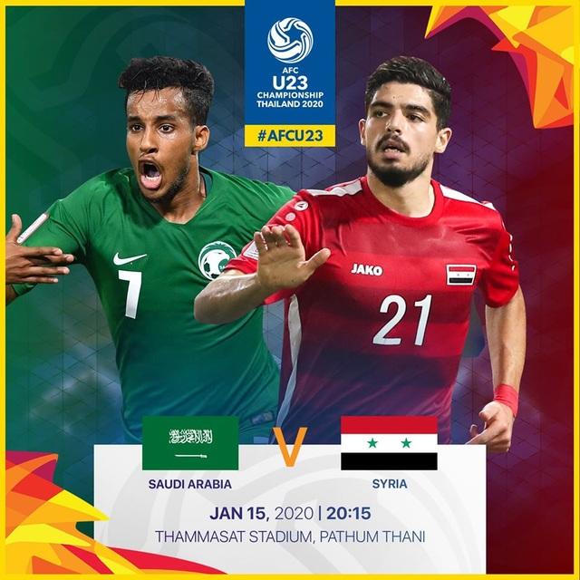 Gục ngã trước U23 Saudi Arabia, U23 Syria vẫn giành vé đi tiếp - 5