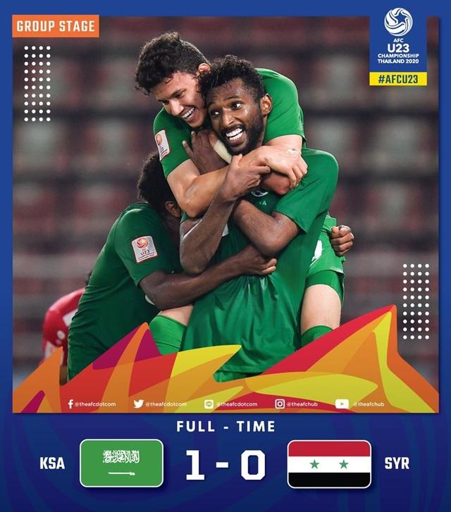 Gục ngã trước U23 Saudi Arabia, U23 Syria vẫn giành vé đi tiếp - 2