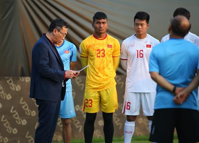 U23 Việt Nam nhận thư động viên của Thủ tướng, quyết thắng U23 Triều Tiên - 1