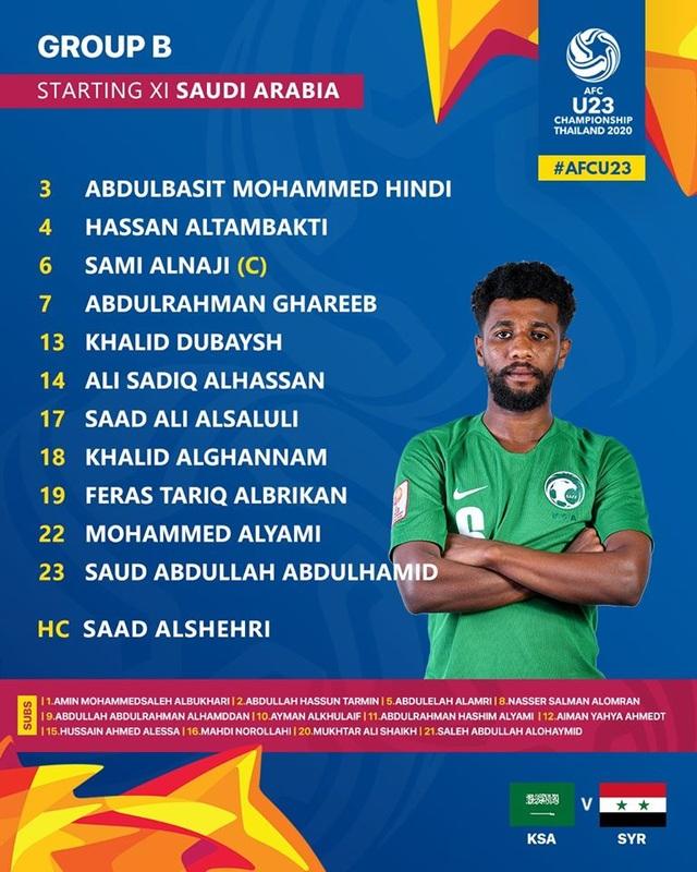 Gục ngã trước U23 Saudi Arabia, U23 Syria vẫn giành vé đi tiếp - 3