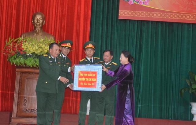 Chủ tịch Quốc hội chúc Tết Bộ chỉ huy Quân sự tỉnh Đắk Lắk - 2