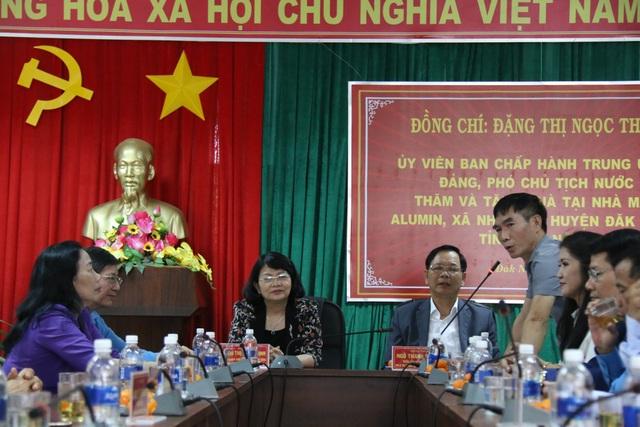 Phó Chủ tịch nước Đặng Thị Ngọc Thịnh chúc Tết tại tỉnh Đắk Nông - 3