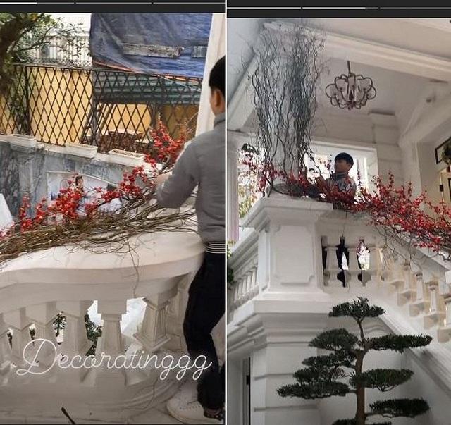 Sao Việt trang hoàng biệt thự, căn hộ rực rỡ đón Tết Canh Tý - 5