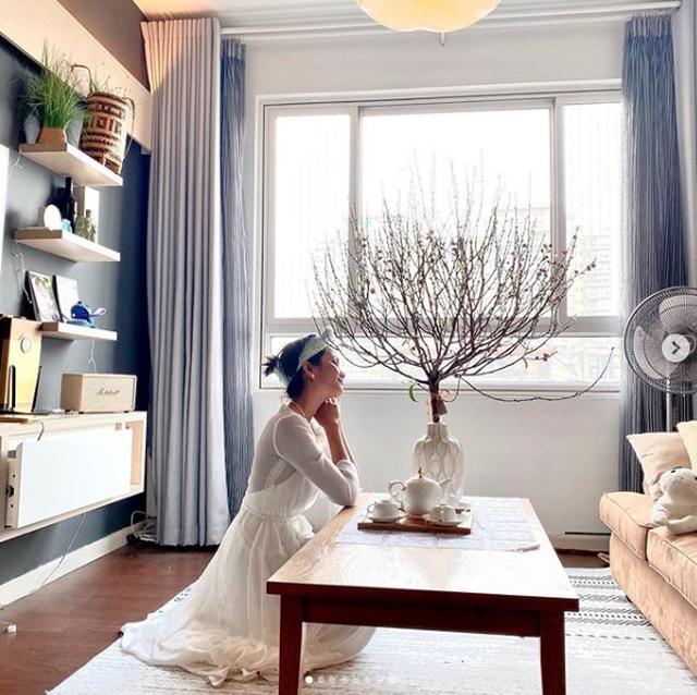 Sao Việt trang hoàng biệt thự, căn hộ rực rỡ đón Tết Canh Tý - 11