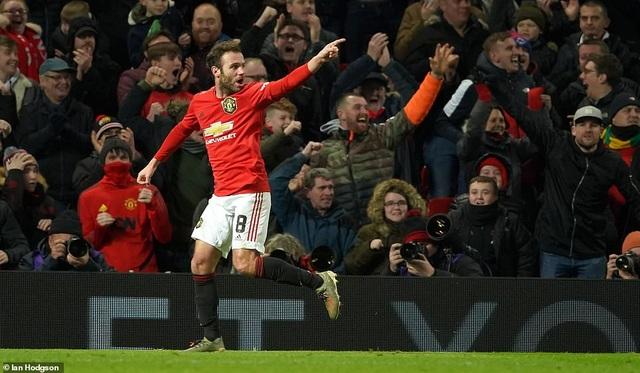 Manchester United vào vòng 4 FA Cup nhờ bàn thắng của Mata - 1