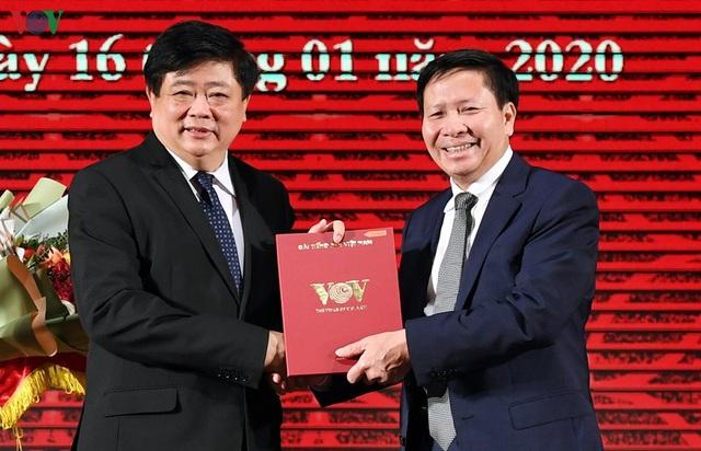 Trao quyết định của Thủ tướng bổ nhiệm 2 Phó Tổng Giám đốc VOV - 4