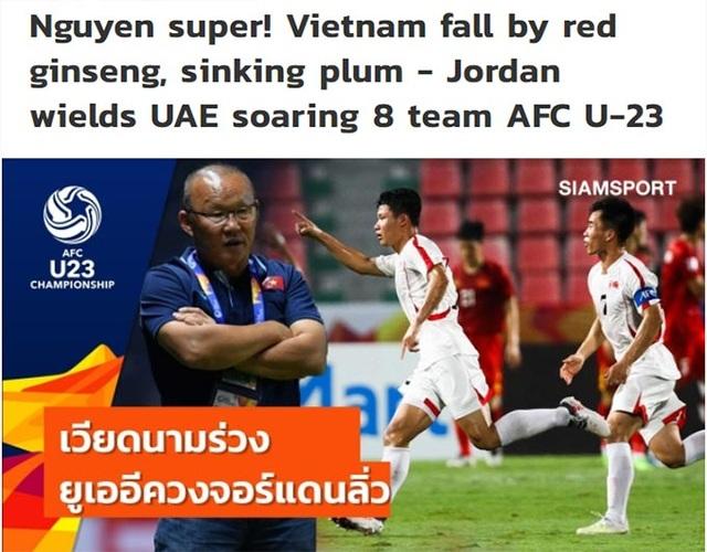 Báo Thái Lan nói gì sau khi U23 Việt Nam chia tay giải U23 châu Á? - 1